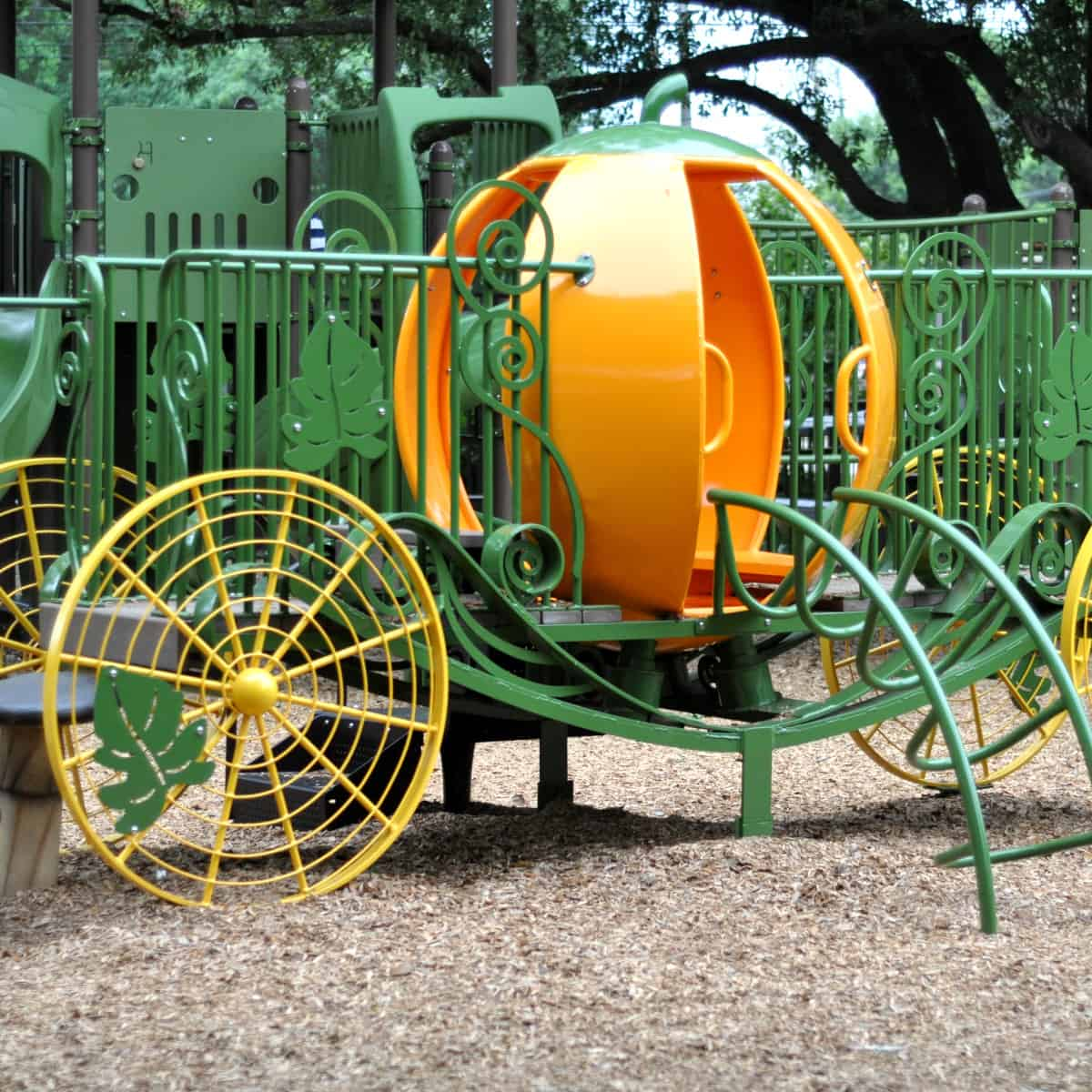 Pumpkin Carraige at River Oaks Pumpkin Park