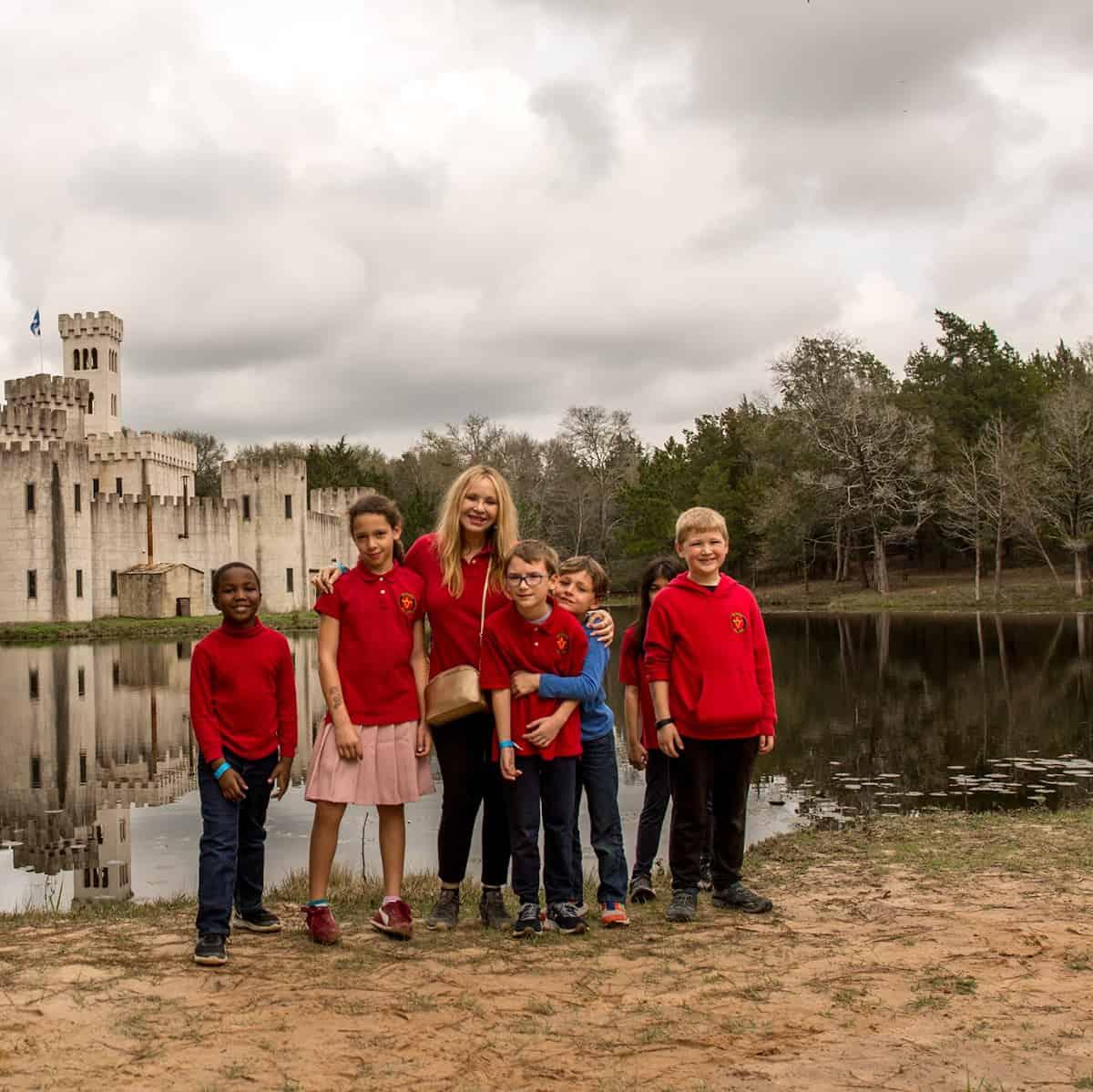 Rainard School Students on Field Trip