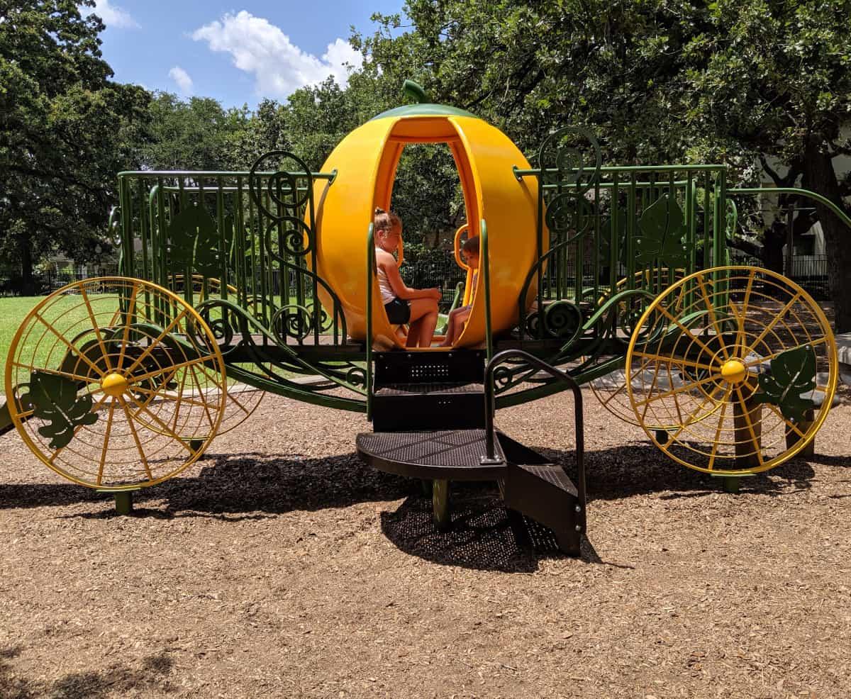 River Oaks Park Pumpkin Carriage