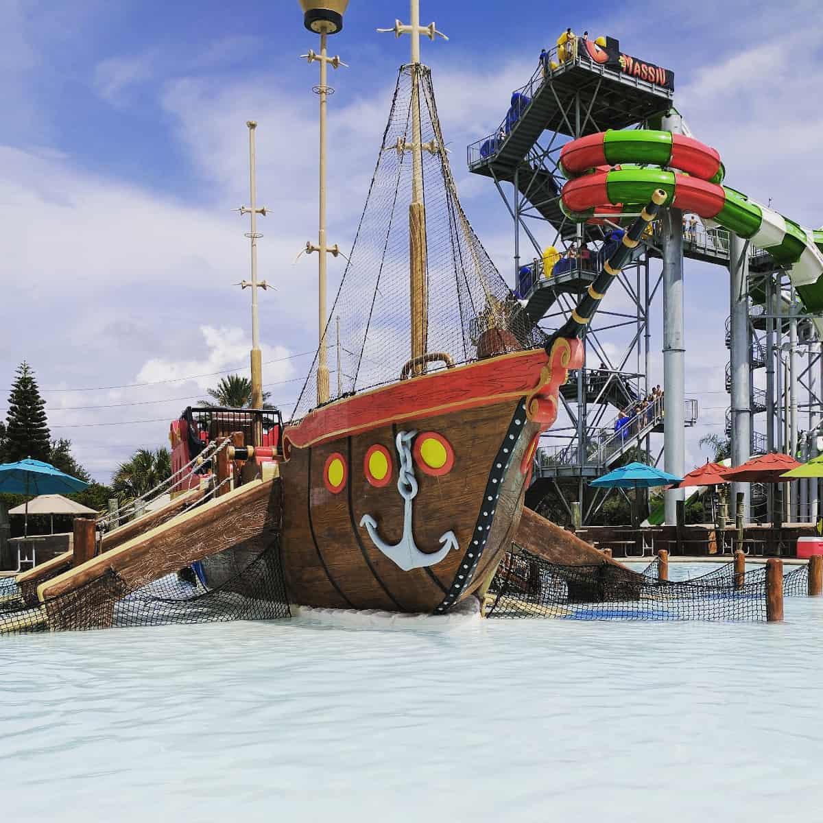 Schlitterbahn Galveston Pirate Ship