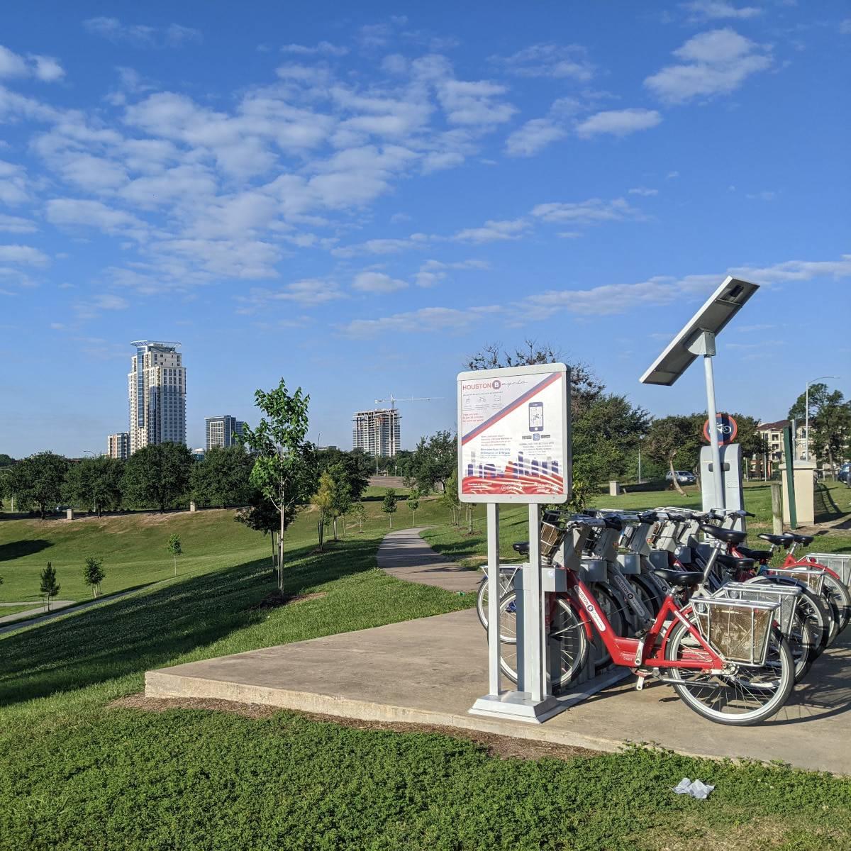 Spotts Park Bike Rentals