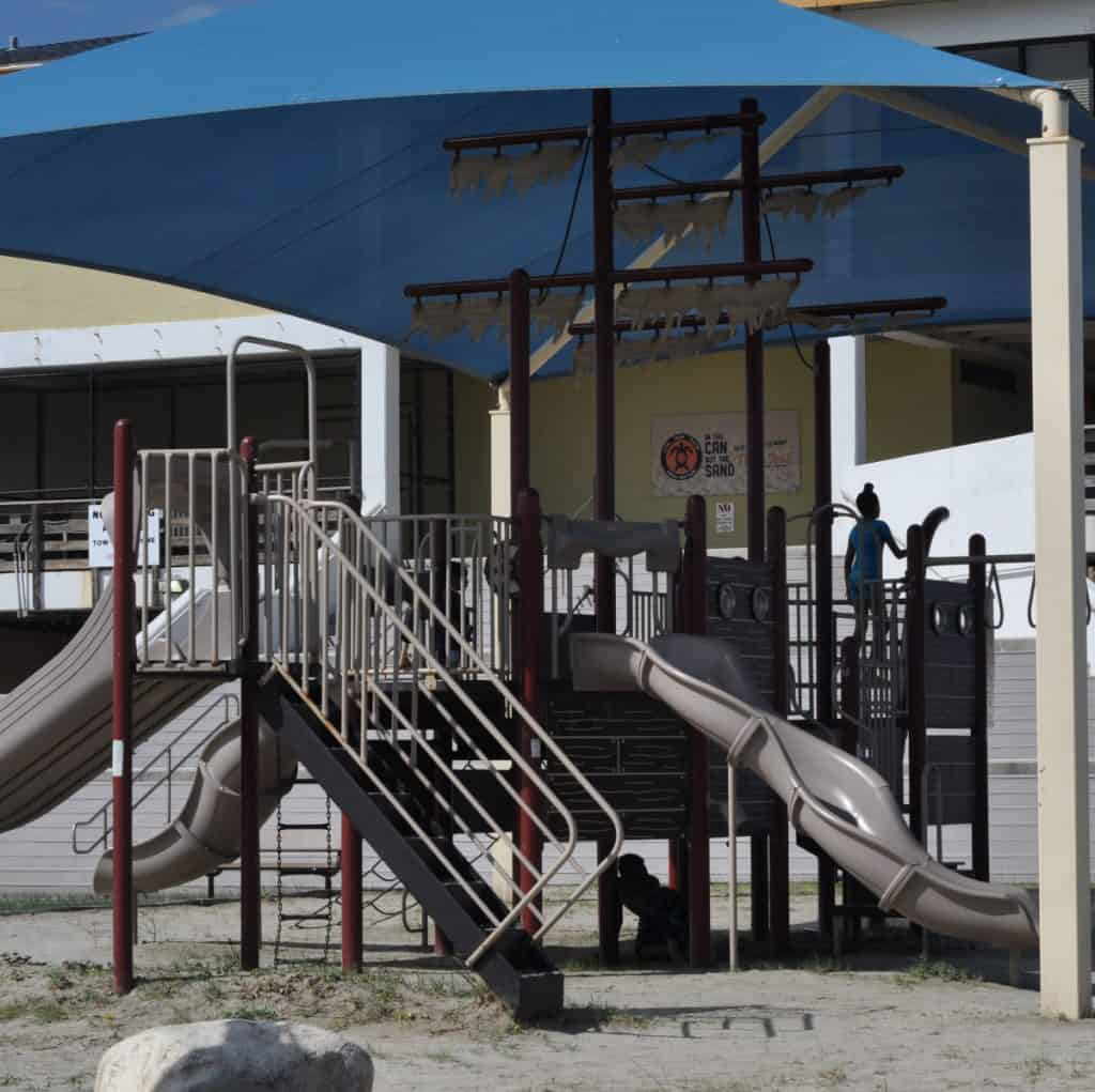 Playground at Stewart Beach