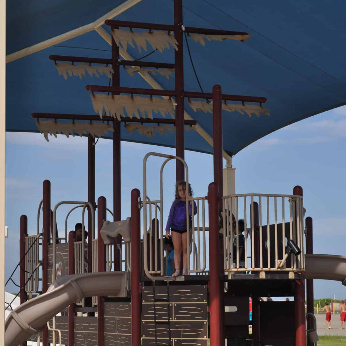 Stewart Beach Pirate Ship Playground