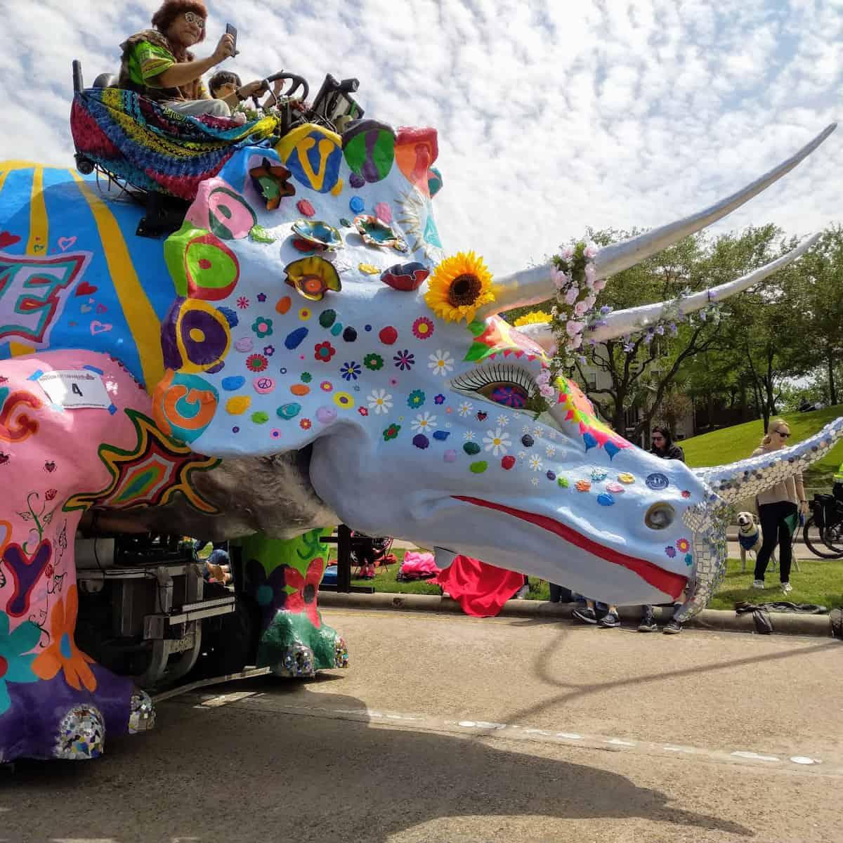 Art Car Dinosaur