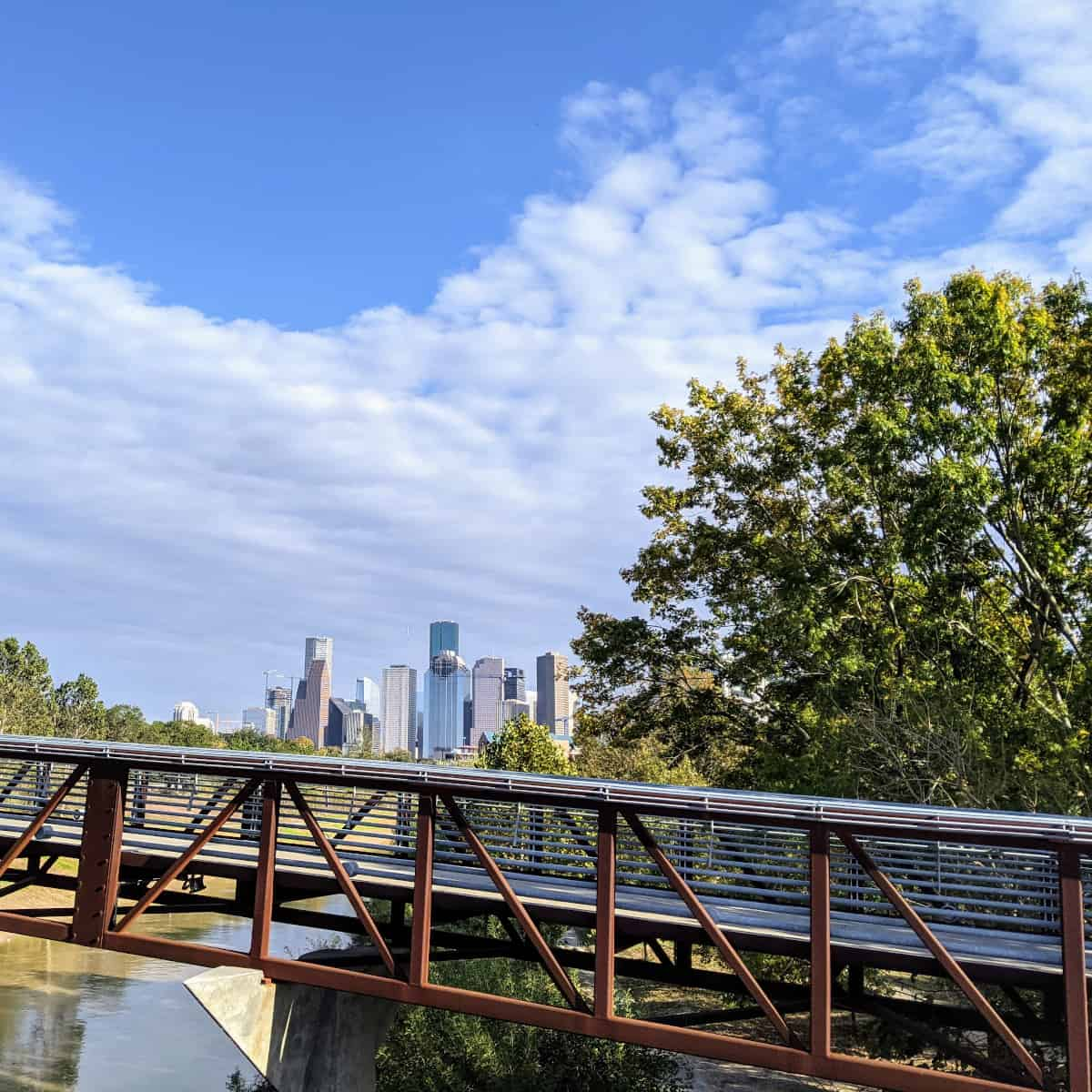 Buffalo Bayou Park Trails