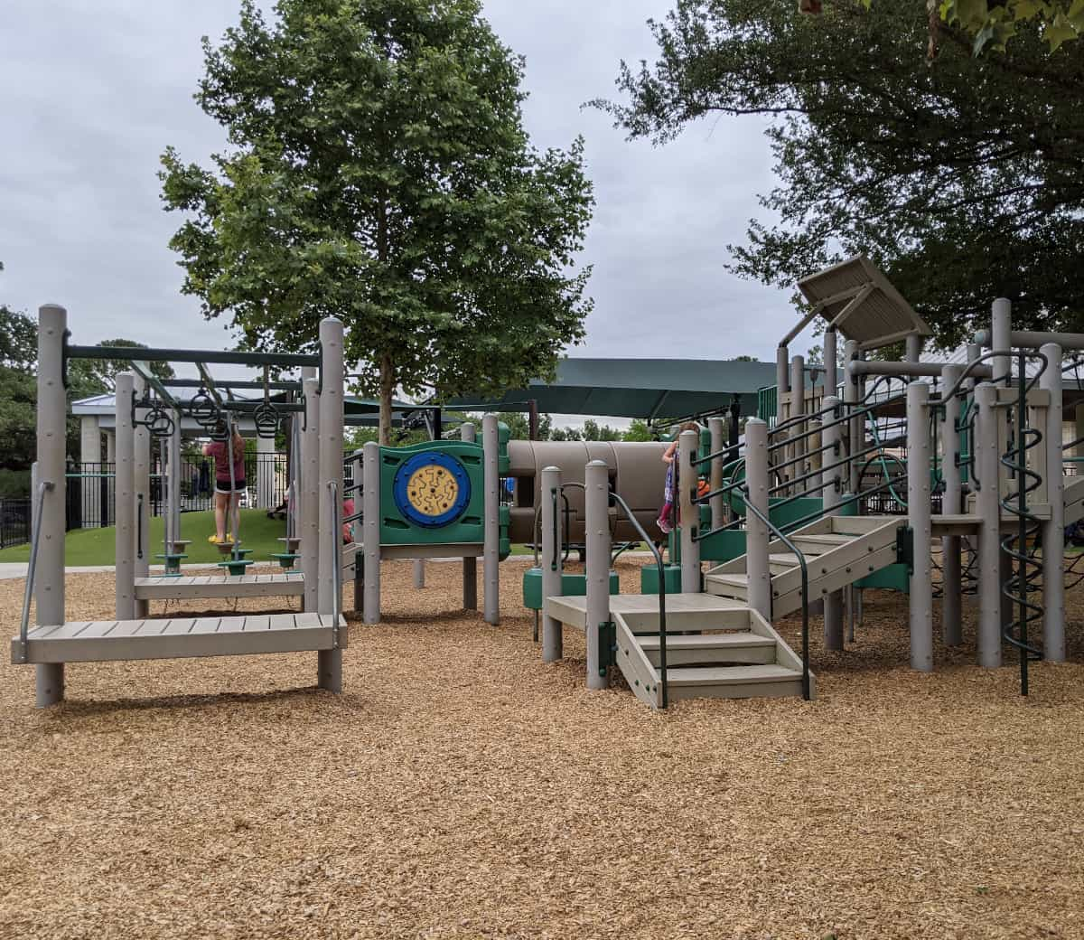 Fire Truck Park Play Structure