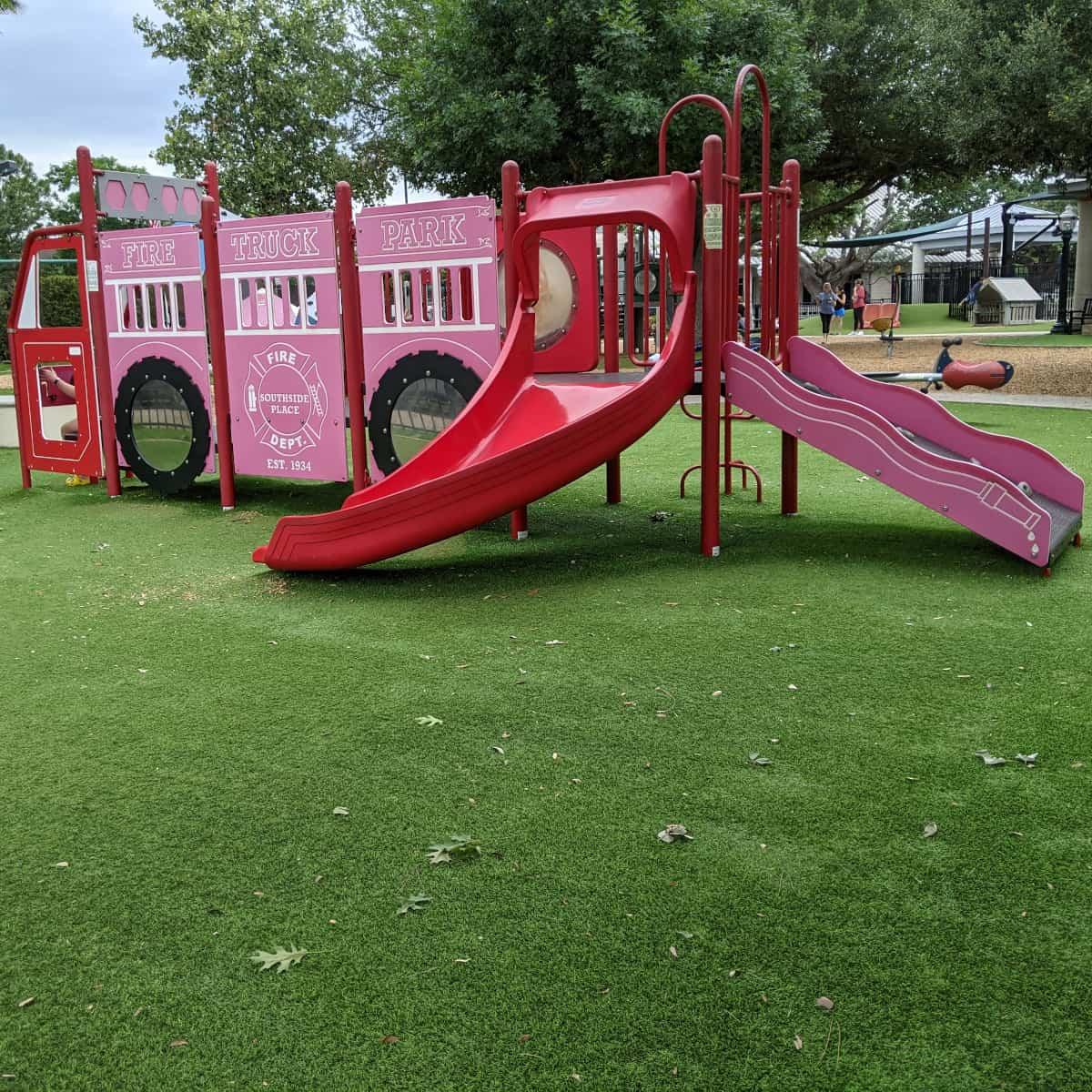 Fire Truck Park Fire Truck Play Structure