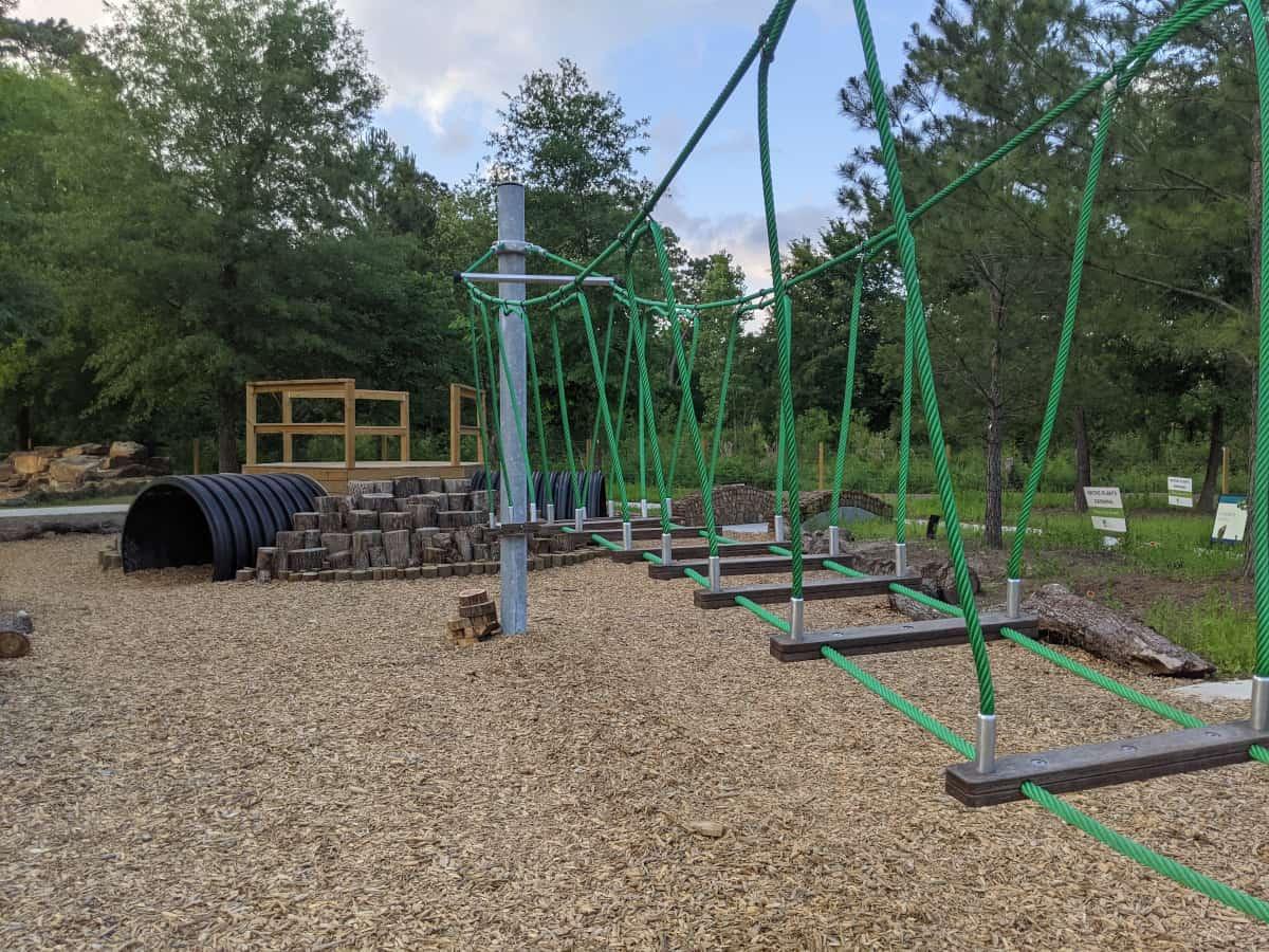 Houston Arboretum Nature Play Area Bridge