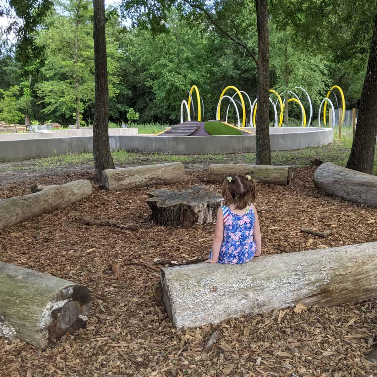 Houston Arboretum Logs