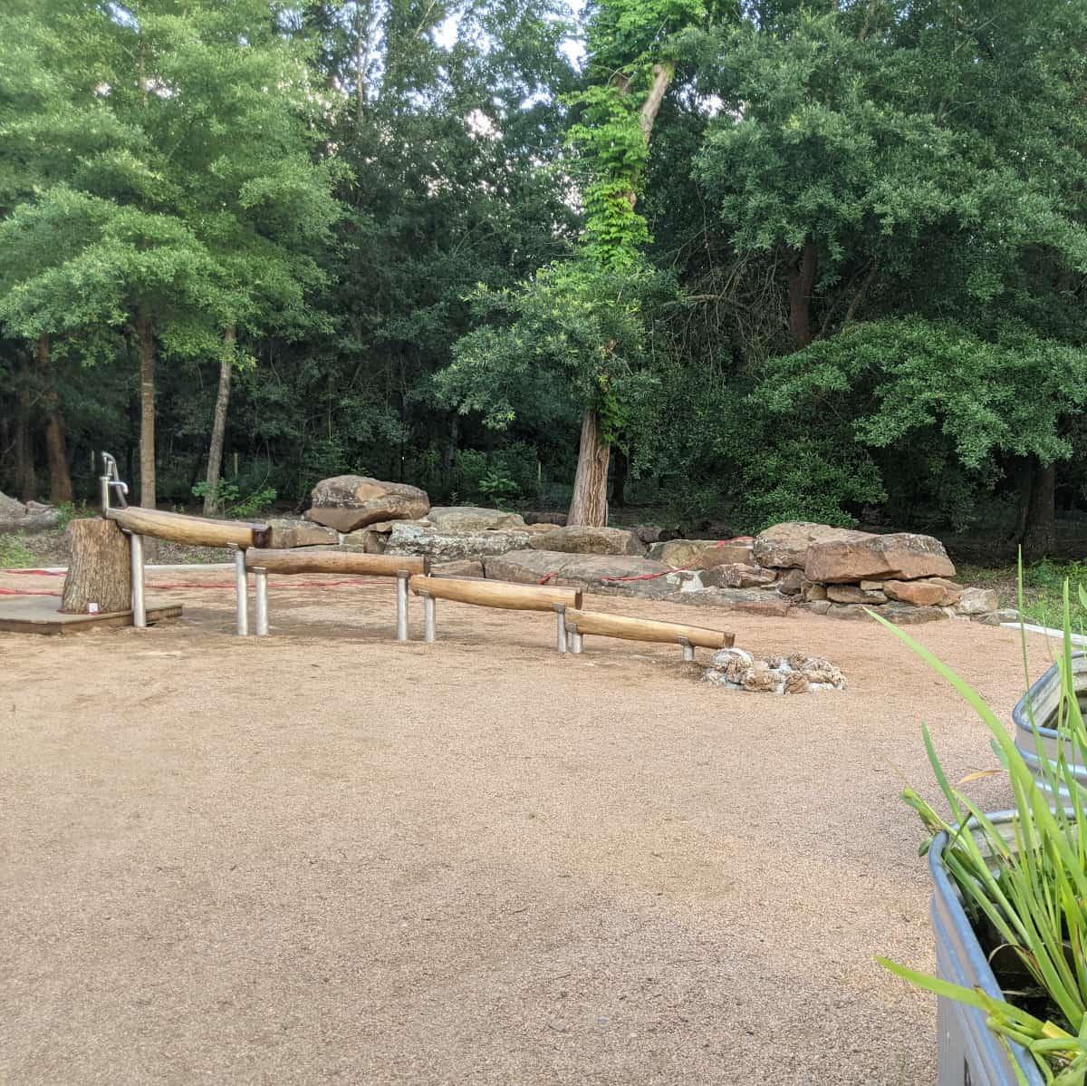 Houston Arboretum Nature Play Area Water