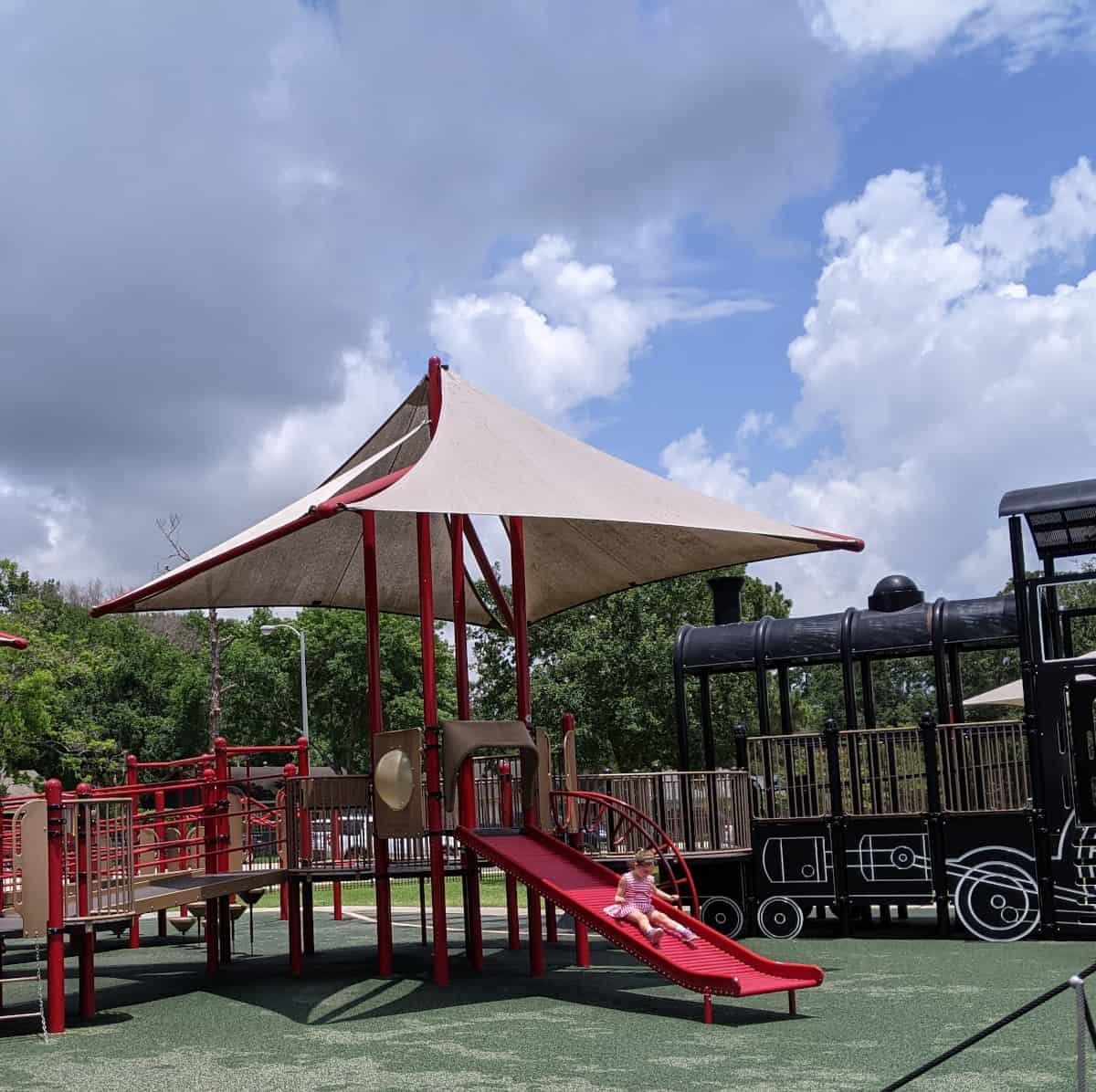 Katy Play Station Roller Slide