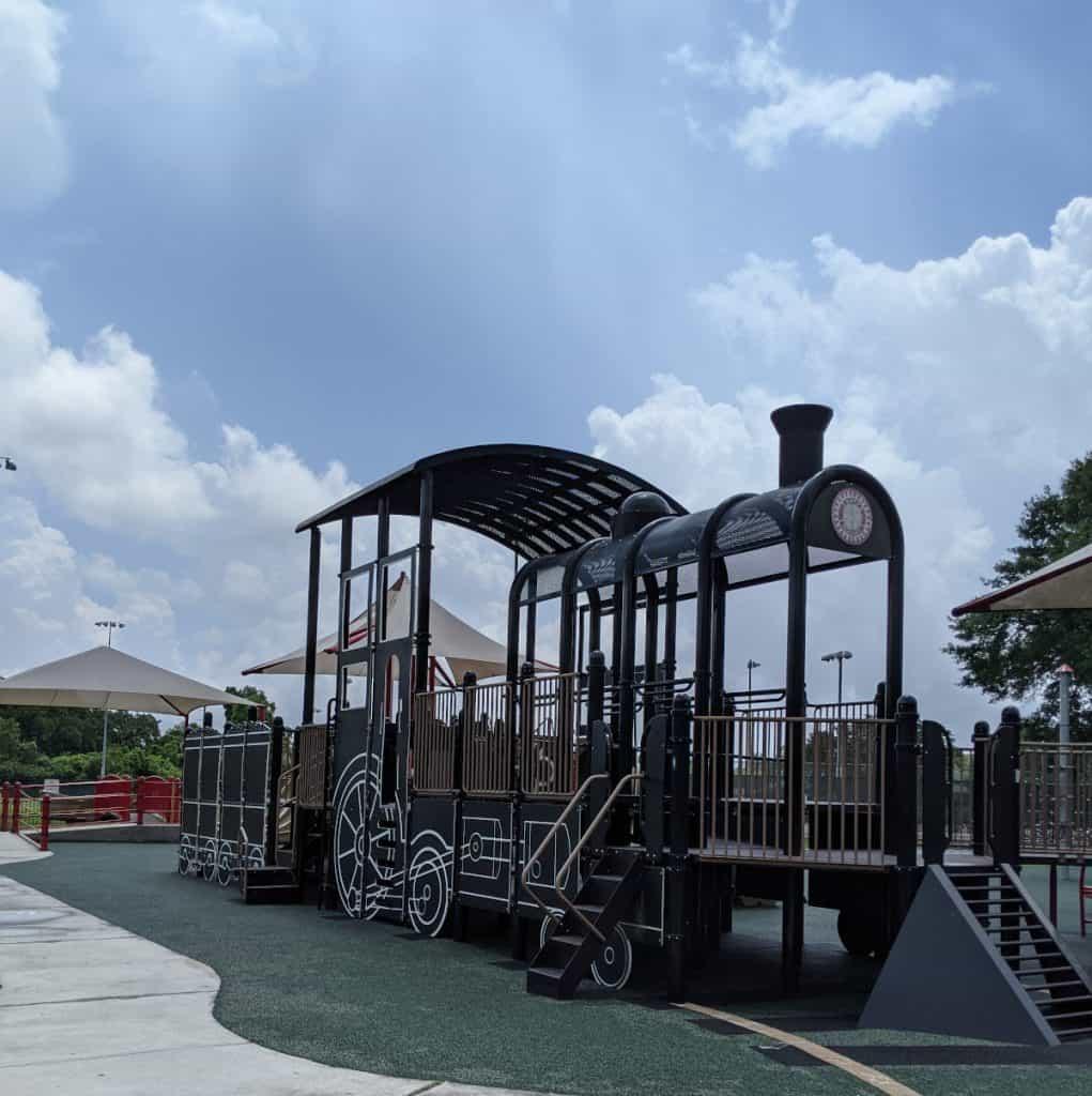 Katy Play Station Train Playground