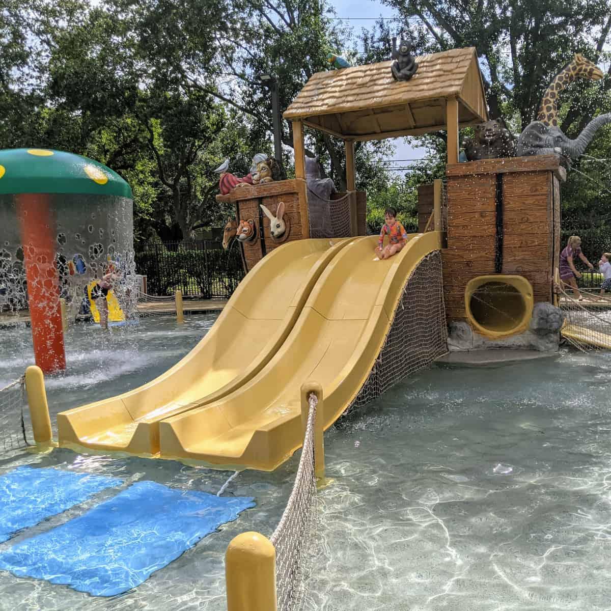 Noahs Ark Boat Slide