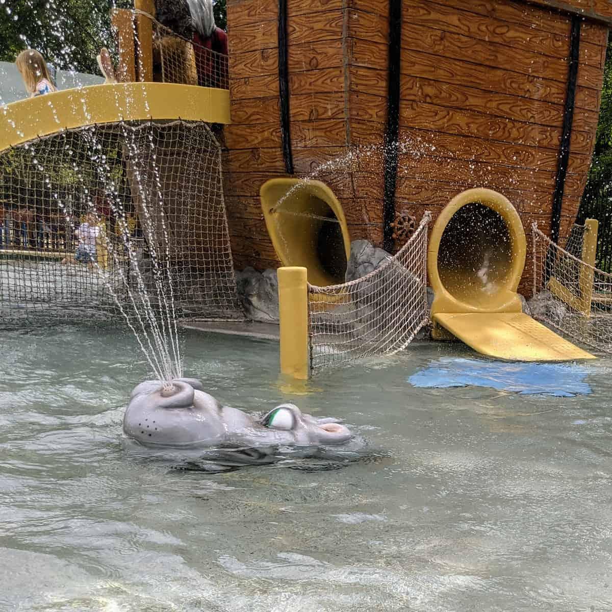 Noahs Ark Pool Hippo