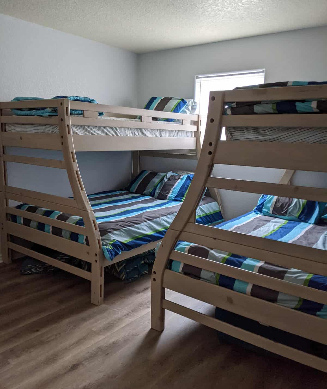 Rock House Surfside Beach Rental Bunk Beds