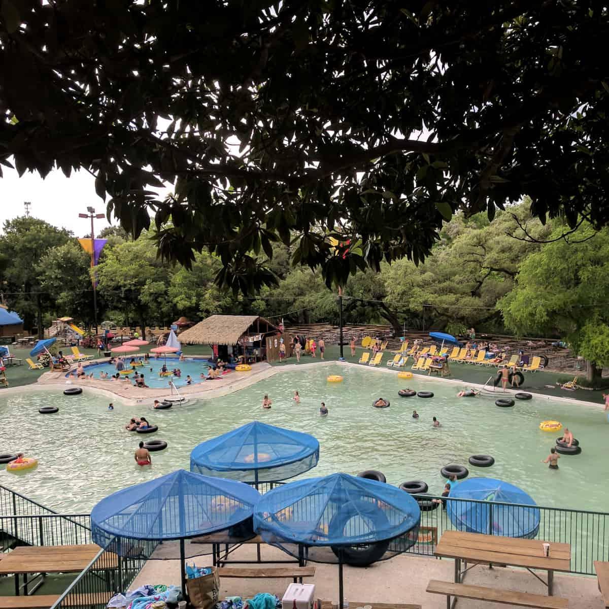 Schlitterbahn New Braunfels Pool