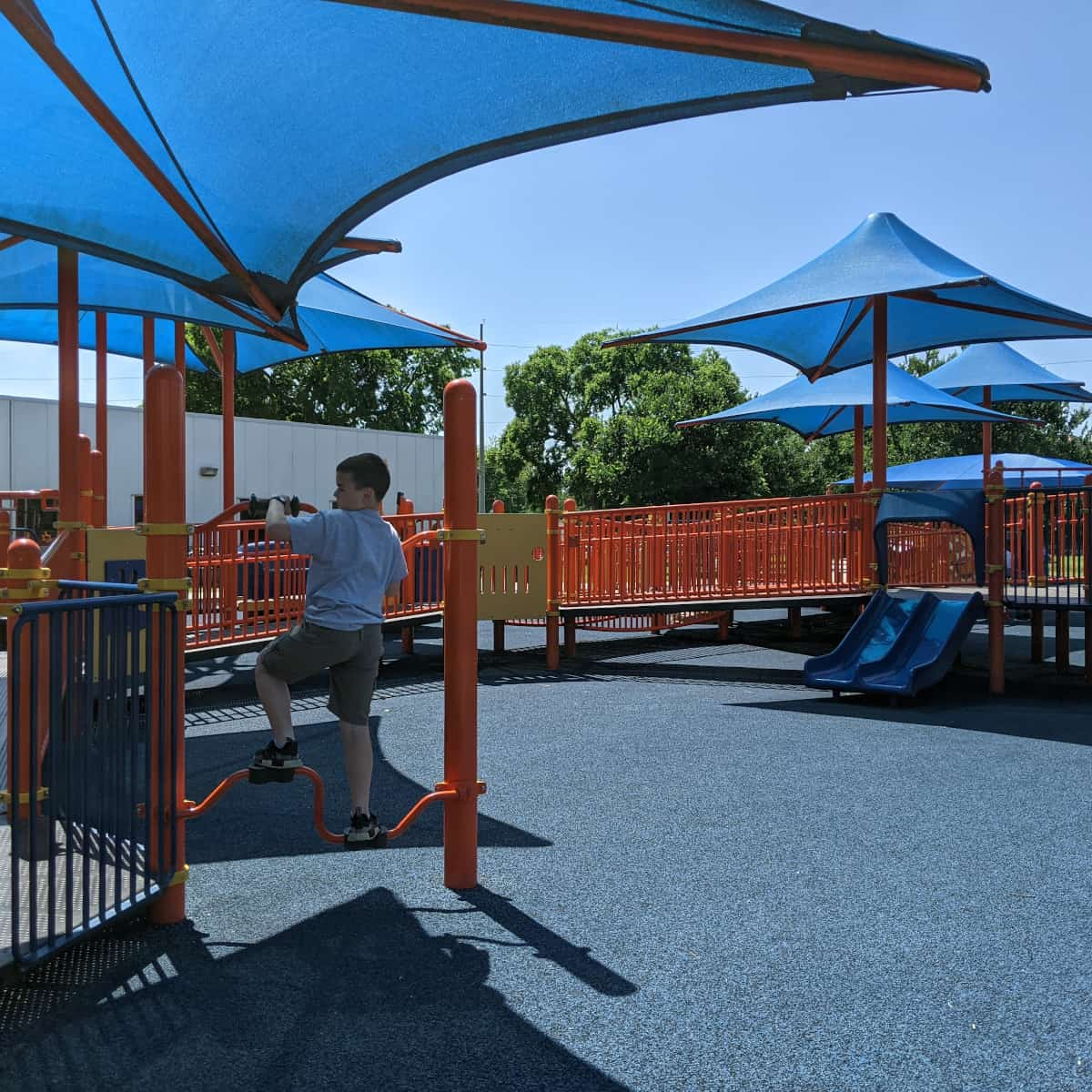 West Gray Rec Center Playground without limits