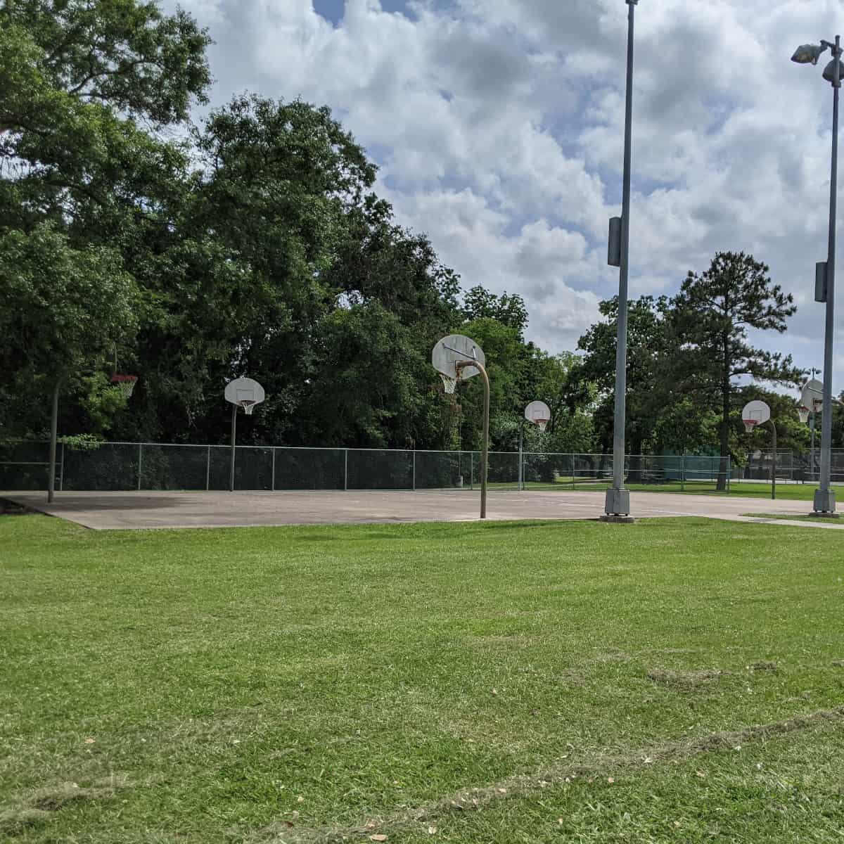 Woodland Park Basketball Court