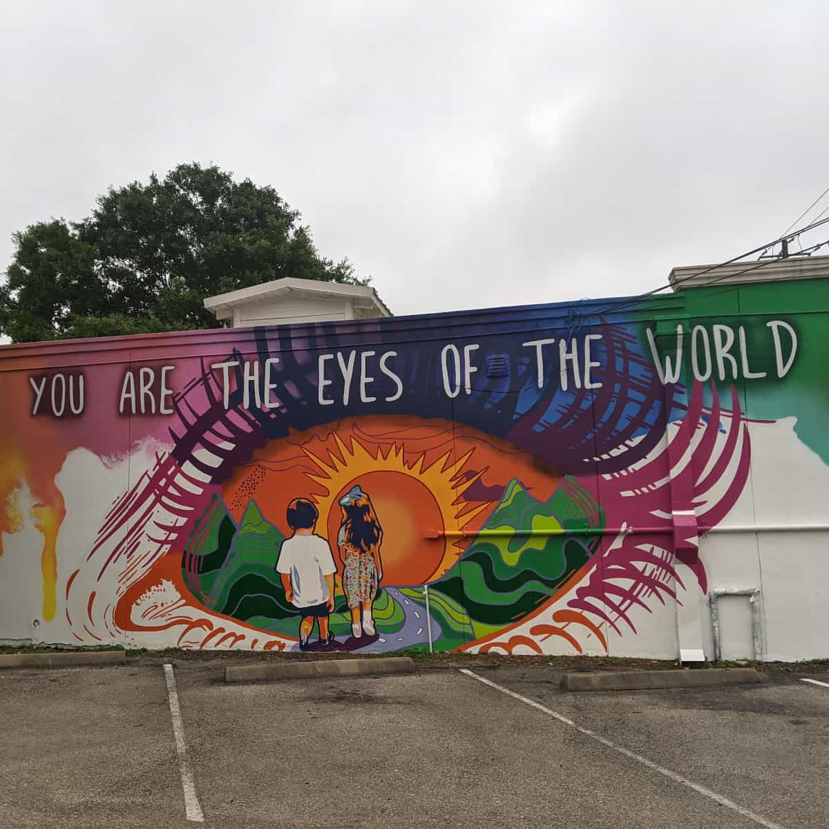 You are the Eyes of the World Mural
