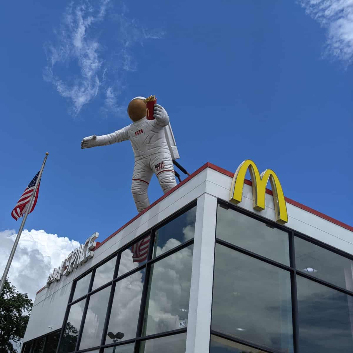 McDonalds by Space Center Houston