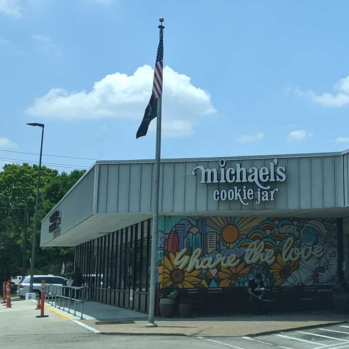 Michaels Cookie Jar Mural Share the Love