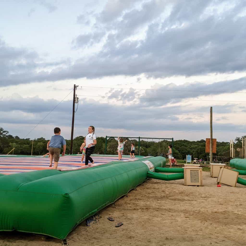 Splashway Campground Jump Pad