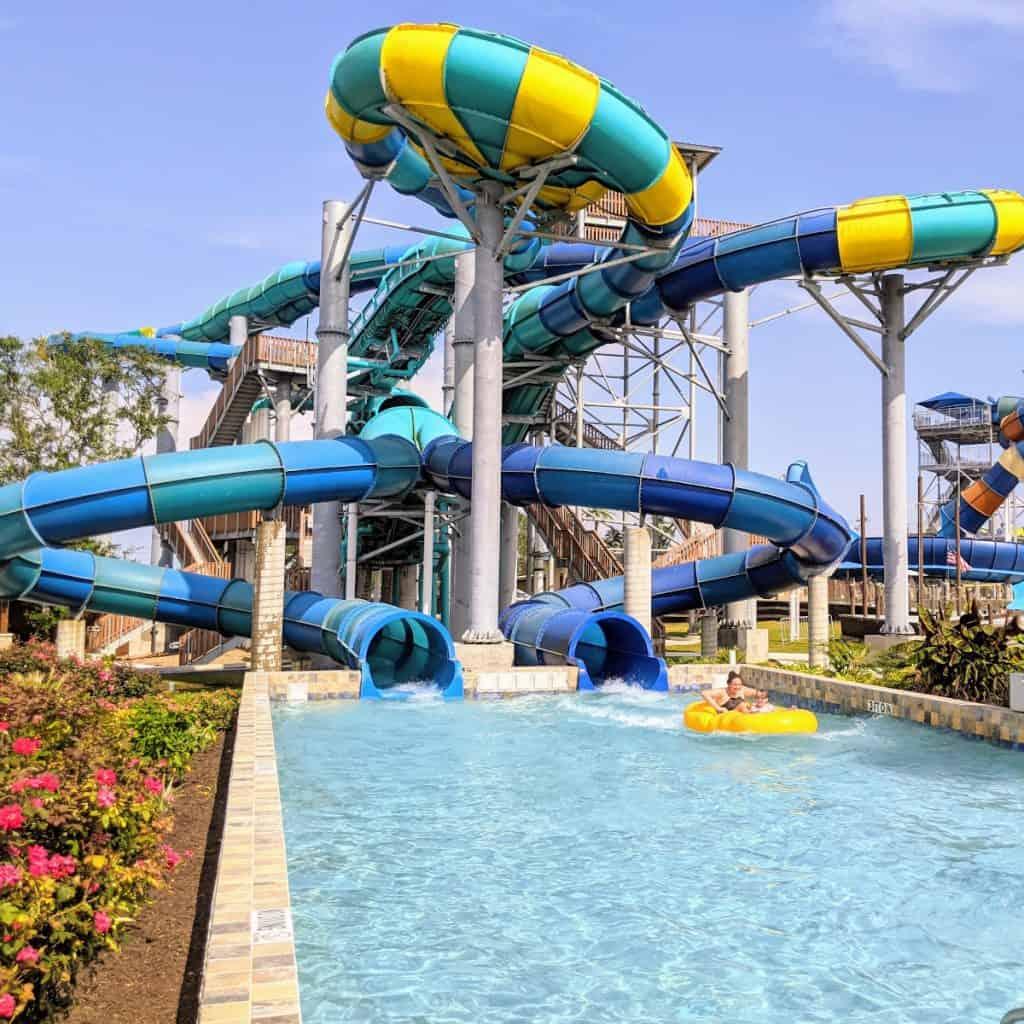 Splashway Waterpark Racer Slide