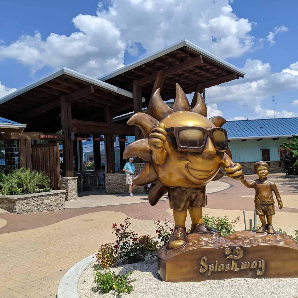 Splashway Waterpark Statue