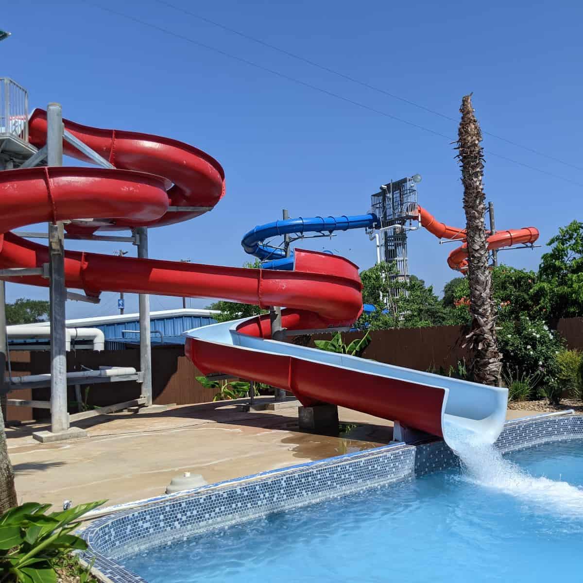 Splashway Waterpark Little Slide
