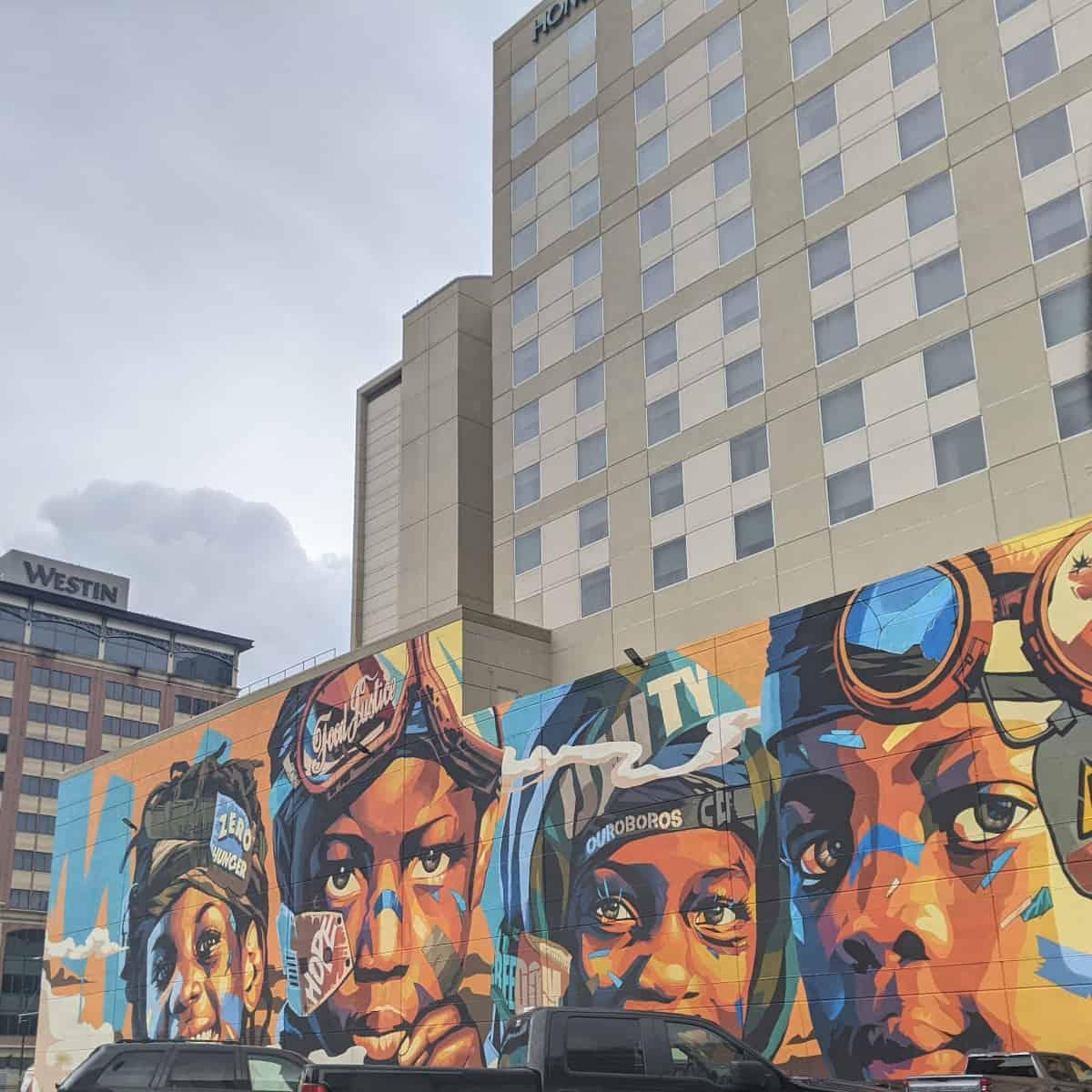 Zero Hunger Mural Houston