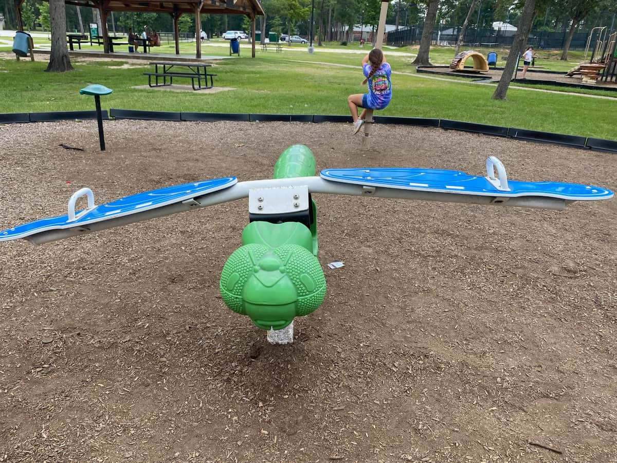 Candy Cane Park Seesaw