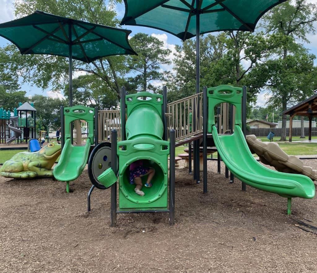 Candy Cane Park Slides