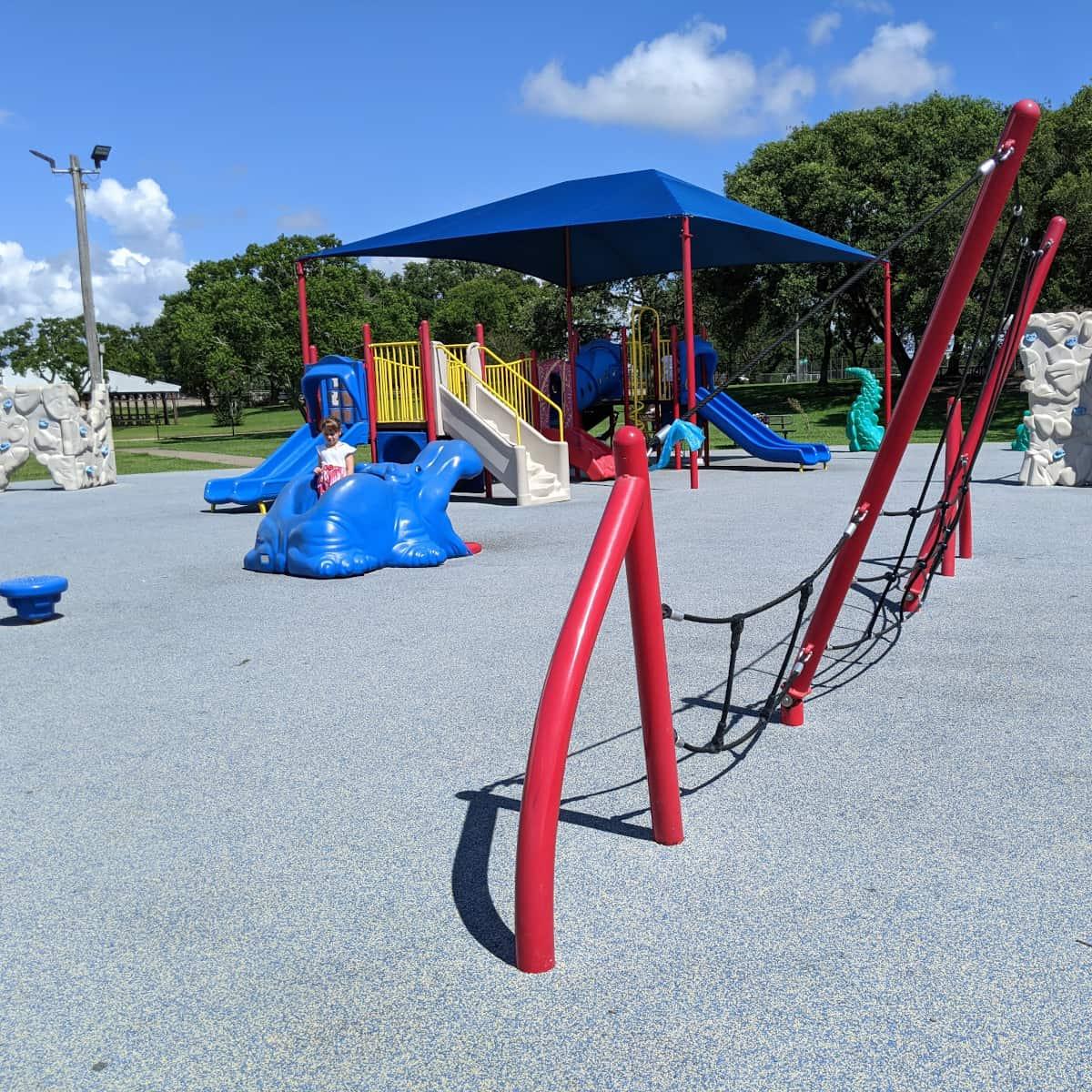 Clear Lake Park Playground Climber