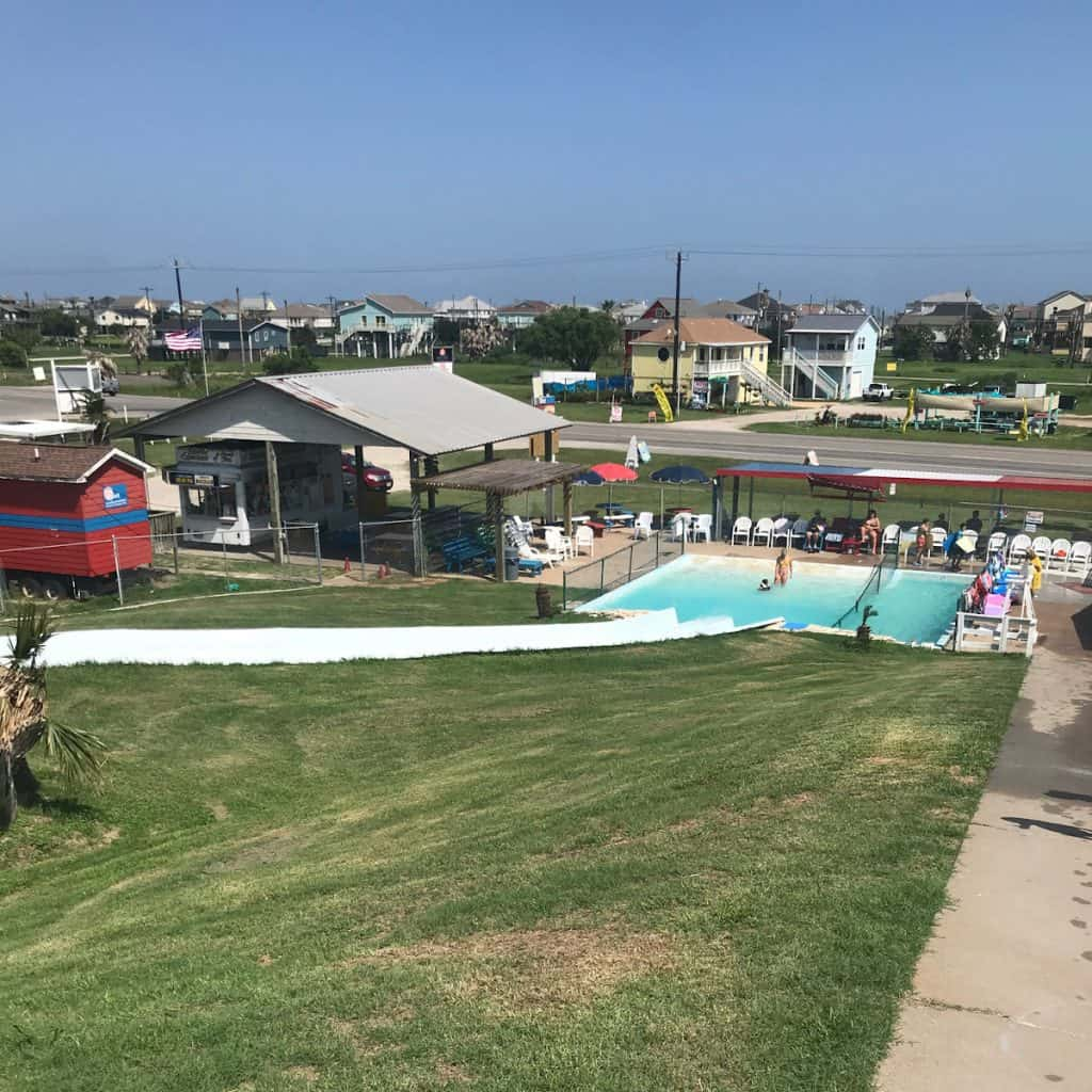 Fun Spot Water Slide Pool