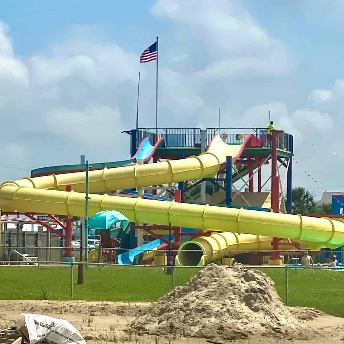 Fun Town Water Park Slide
