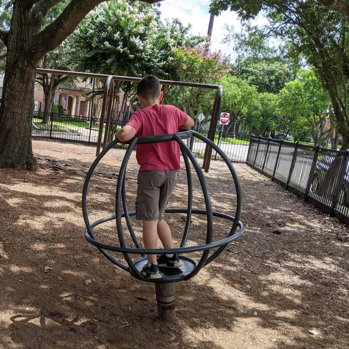 Judson Park Spinner