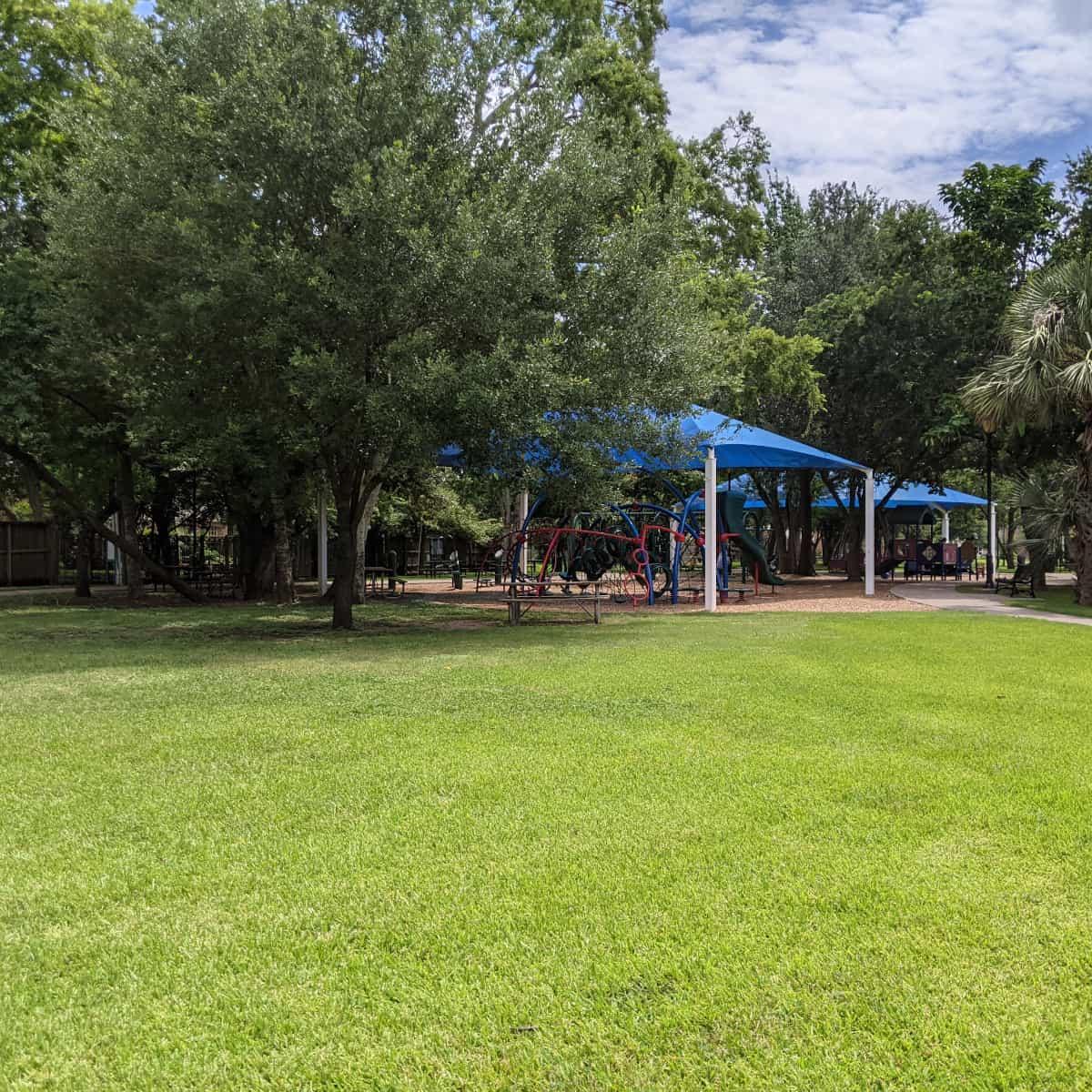 Shaded Playgrounds at Loftin Park