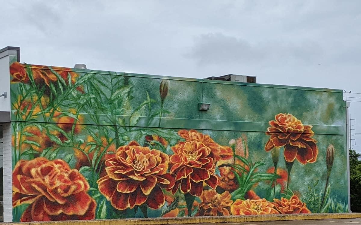 Marigold Mural