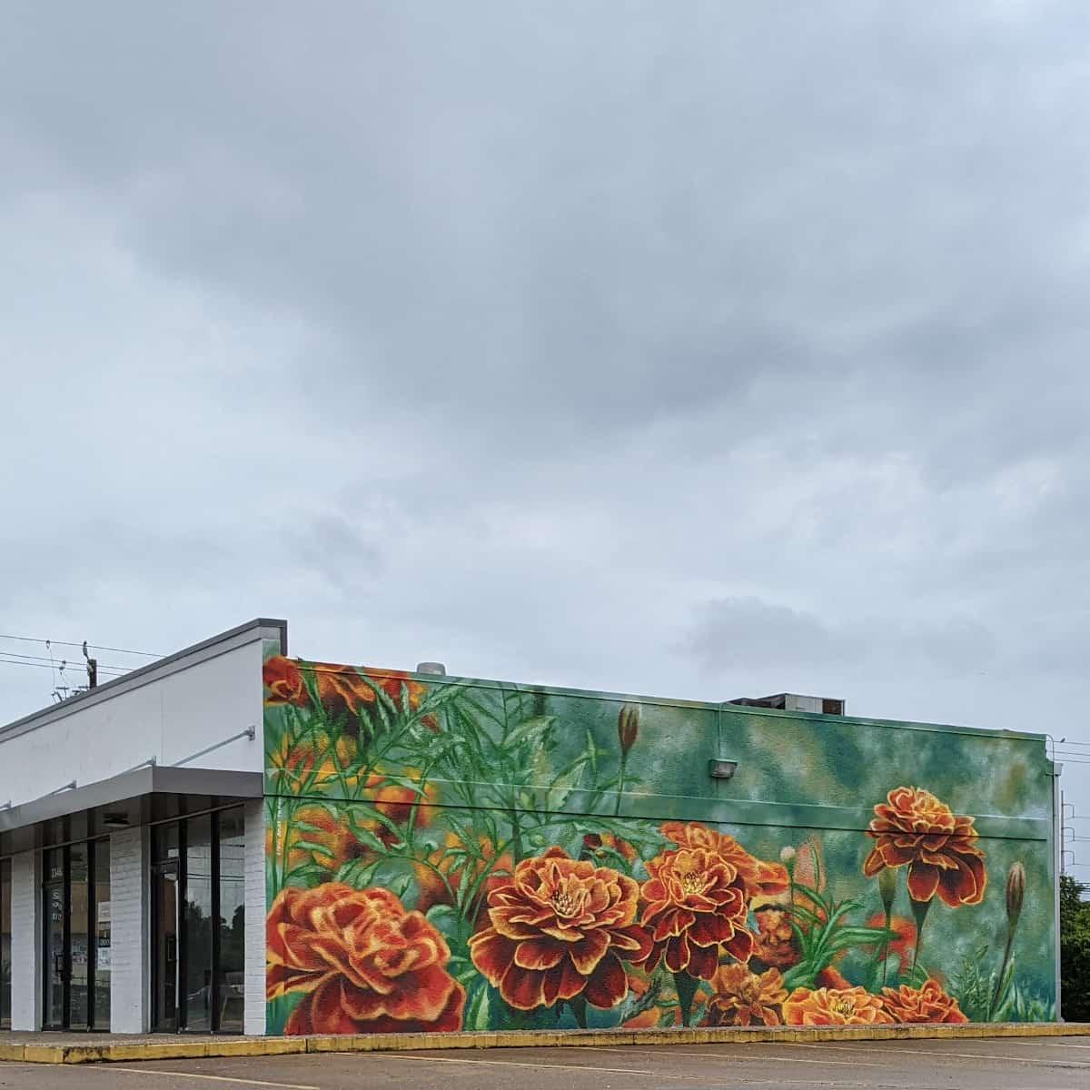 Marigold Mural Houston