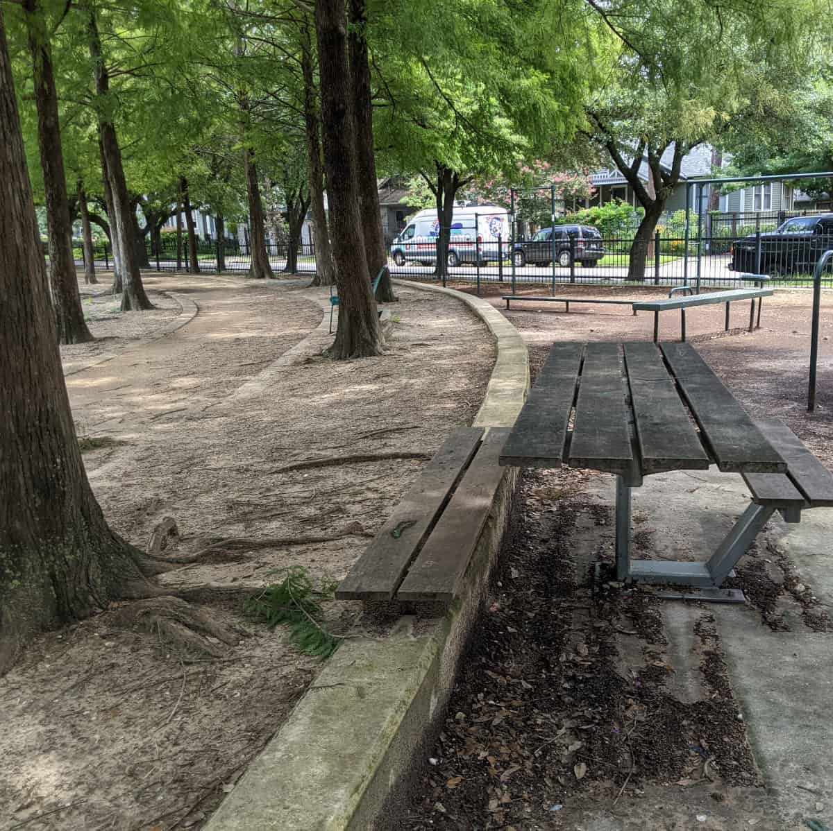 Travis Spark Park Picnic Bench