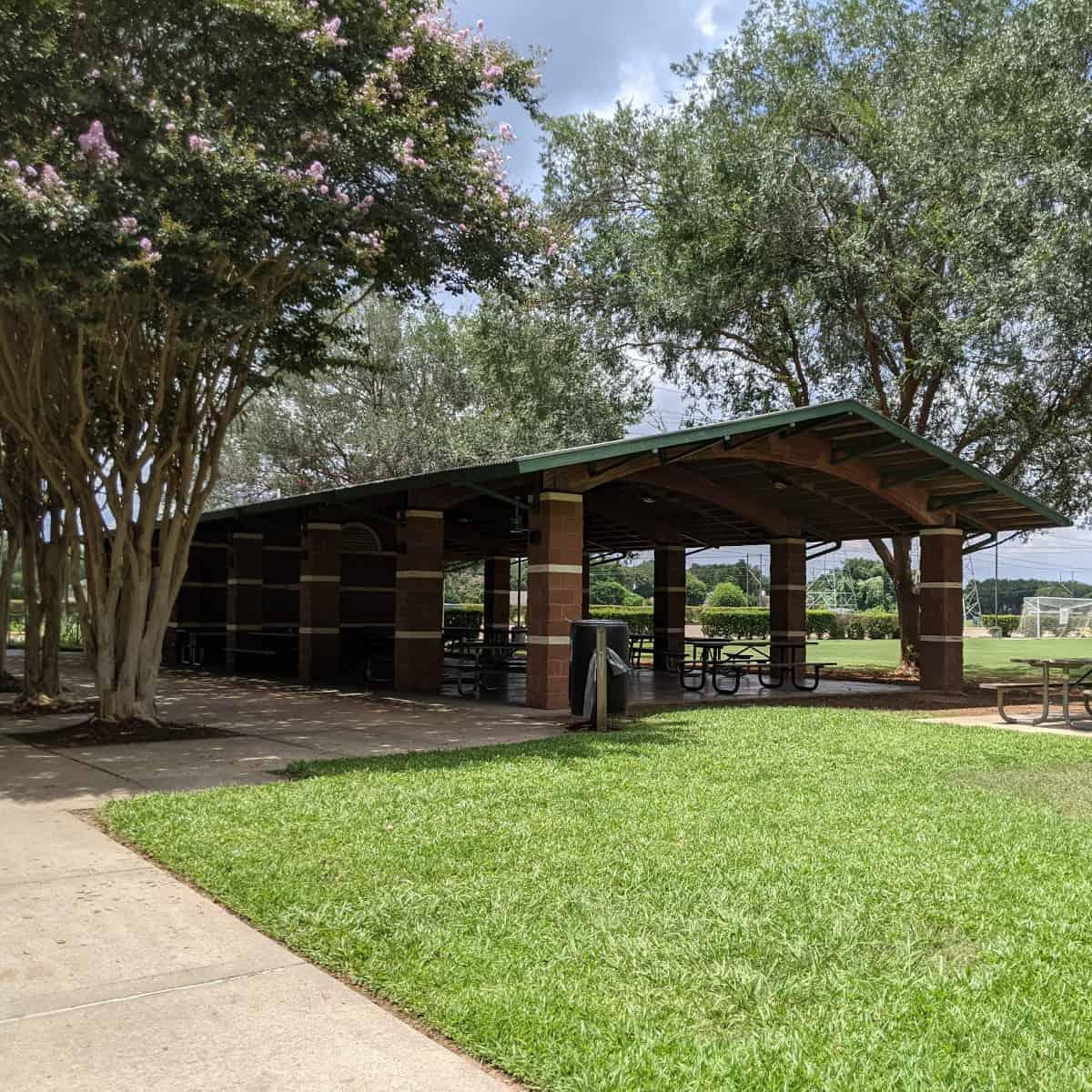 Pavilion at Lost Creek Park