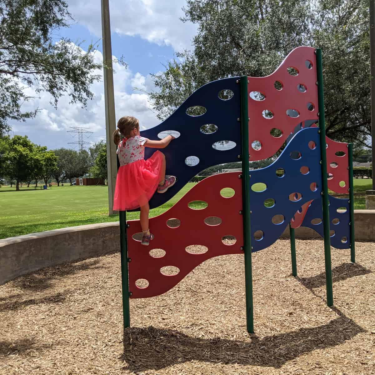 Lost Creek Park Playground Climber