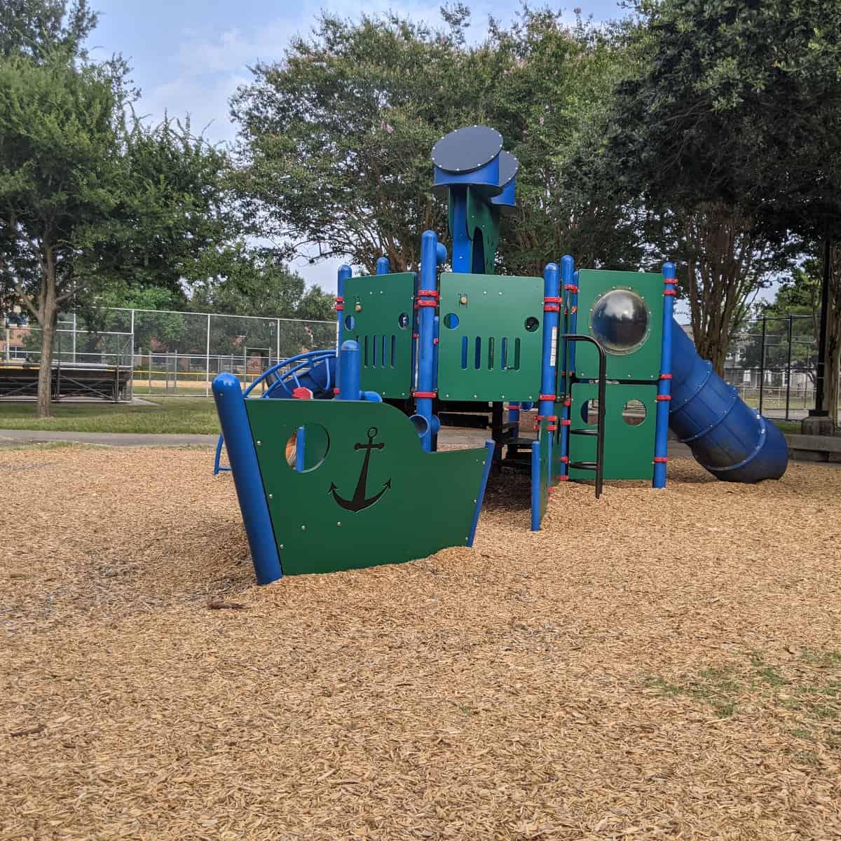 Ship Playground at Meyerland Park