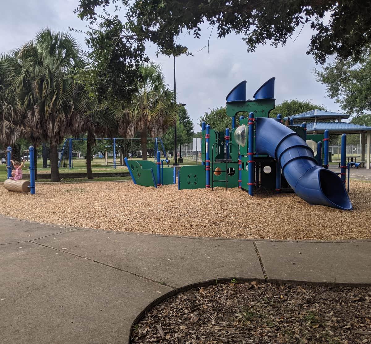Meyerland Park Bigger Play Structure