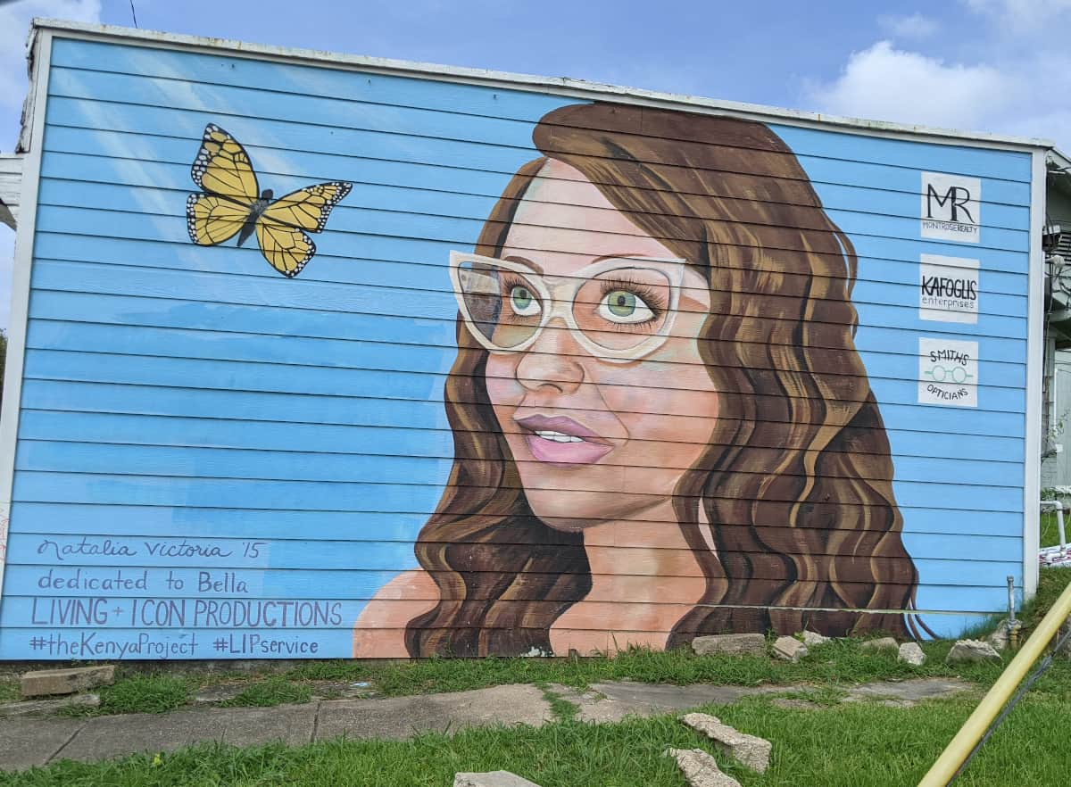 The Kenya Project Mural on West Gray