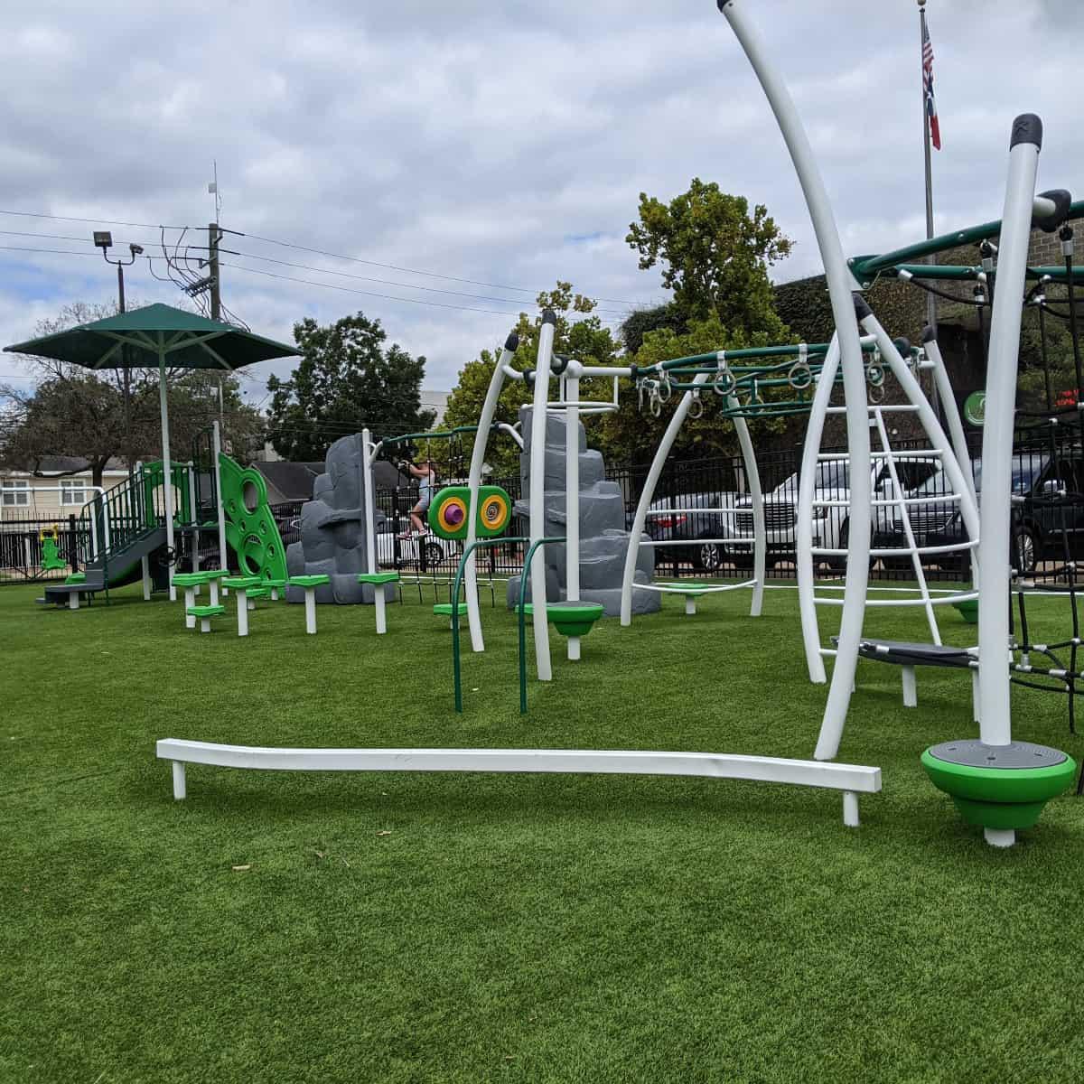 Arabic Immersion School Spark Park Playground