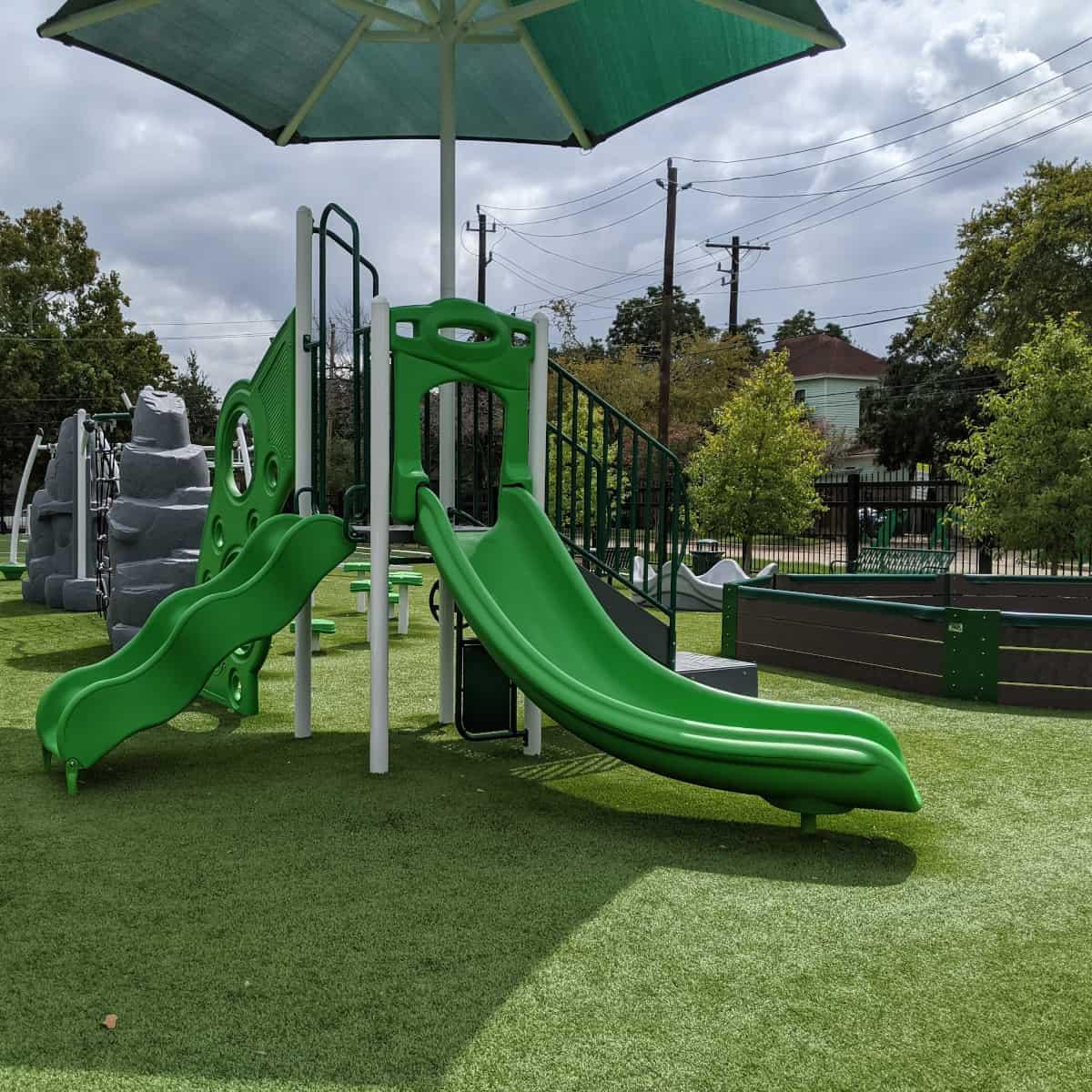 Arabic Immersion School Spark Park Slides