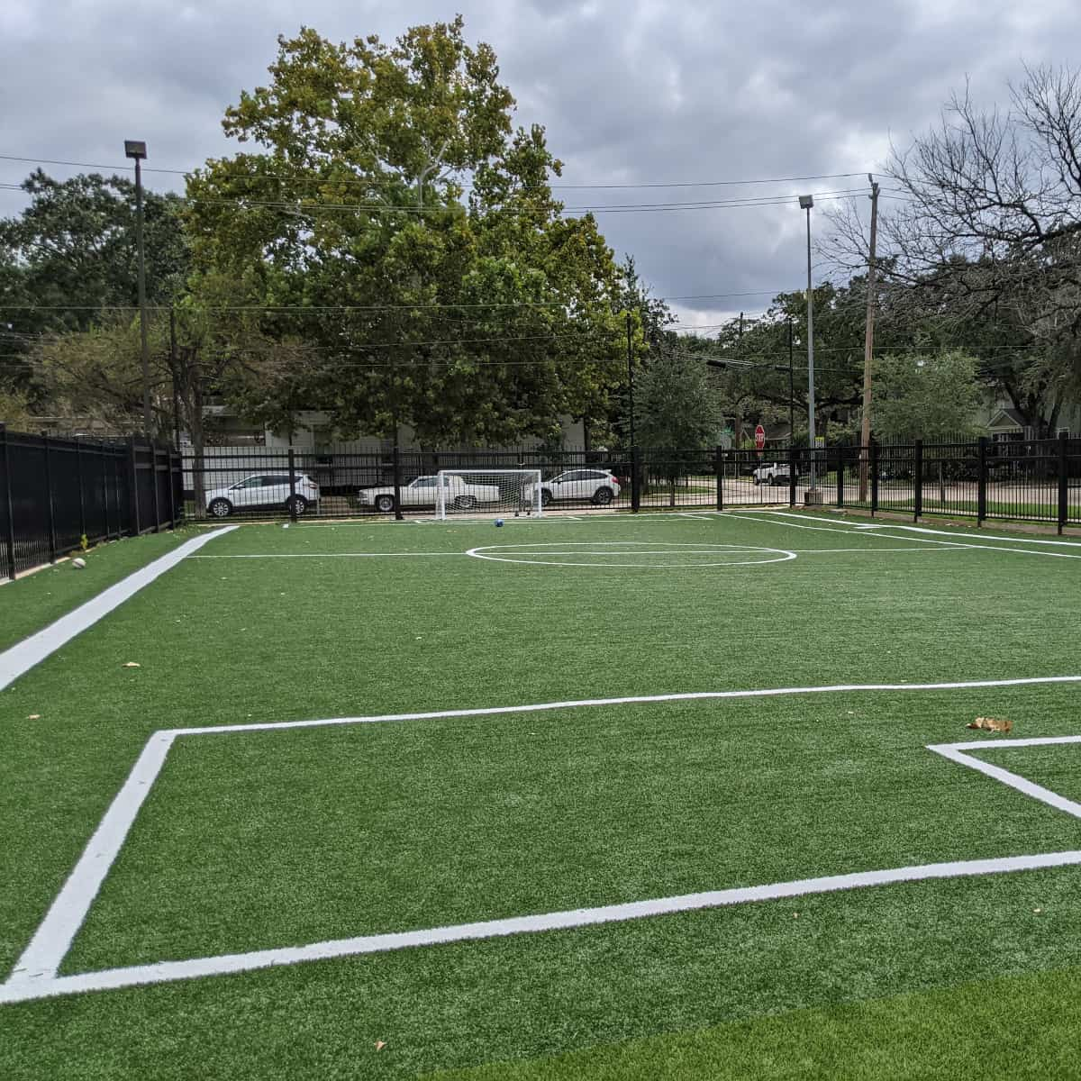 Arabic Immersion School Spark Park Soccer Field