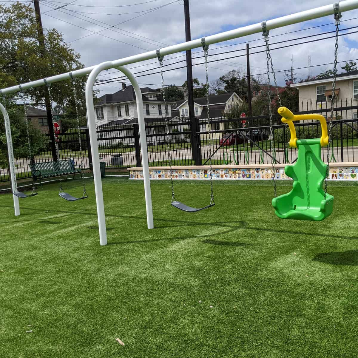 Arabic Immersion School Spark Park Swings