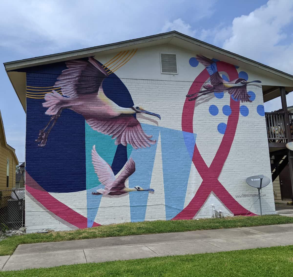 Galveston Bird Mural